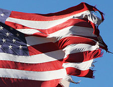 Drapeau américain (Old American ragged flag)